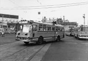 熊本駅前の第一環状線路線バス