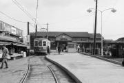 昭和40年の南熊本駅前