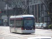 超低床電車0801号運行開始(平成21年)